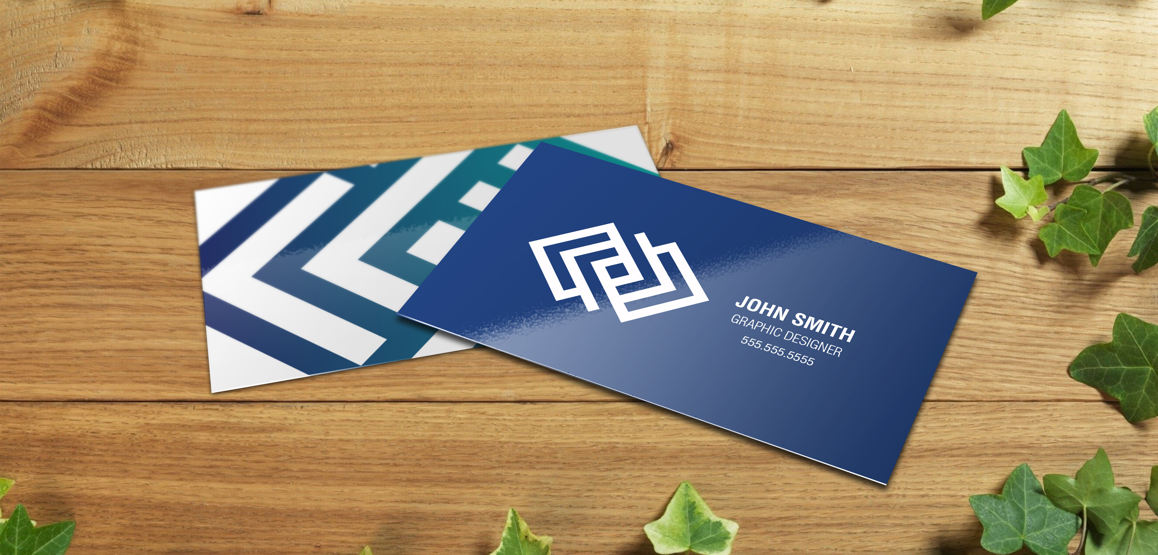 16pt Glossy Business Cards